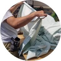 シミ抜き・洗濯・乾燥